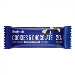 Bilde av Bodylab Protein Bar Cookies & White Chocolate 55g
