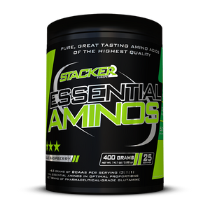 Bilde av Stacker2 Essential Aminos 400g Raspberry