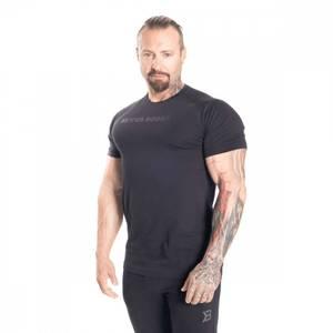 Bilde av Better Bodies Gym Tapered Tee - Black/black XL - 1 STK