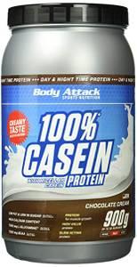 Bilde av Body Attack 100% Casein Protein 900g Chocolate Cream