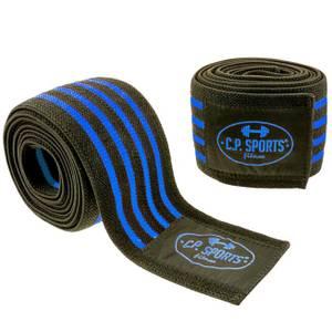 Bilde av Knee Wraps 2 m Black / Blue