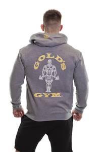 Bilde av Gold's Gym Zip Hoodie - Greymelange M